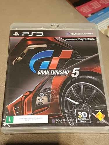 Gran Turismo 5 Ps3 Seminovo