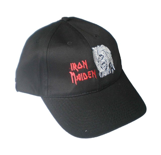 Gorra IRON MAIDEN - Comprar en Locuras Rock 2d03cd6e857