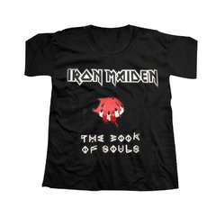 REMERA IRON MAIDEN - THE BOOK OF SOULS