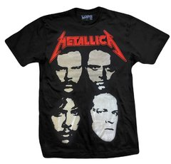 Remera METALLICA FACES