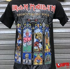 Remera Iron Maiden - Legacy Of The Beast
