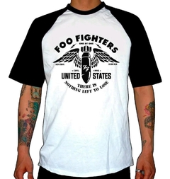 Remera Combinada Foo Fighters - One By One