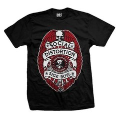 Remera SOCIAL DISTORTION SICK BOYS