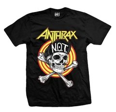 Remera ANTHRAX NOT