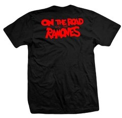 Remera RAMONES ON THE ROAD - comprar online