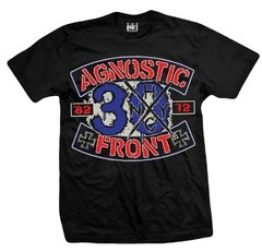 Remera AGNOSTIC FRONT 30 YEARS
