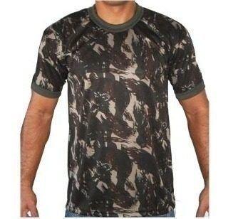 Camiseta Camuflada do Exército - Dry fit b2df348735b