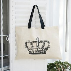 BOLSO DE ARPILLERA CRUDA CROWN