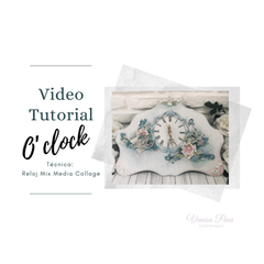 "Video Paso a Paso ""O´Clock"" - comprar online"