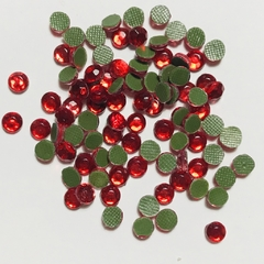 Strass Rojo 3mm
