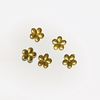 Strass flor oro 10mm