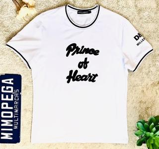 c47cfb50ebe T-shirt D G Dog King black - Mimopega multimarcas