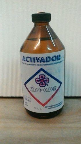 Activador Tela Y Diluyente Adhesivo De Contacto 500cc