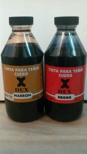 Tinta Dux 250cc Para Cuero Negra Marrón