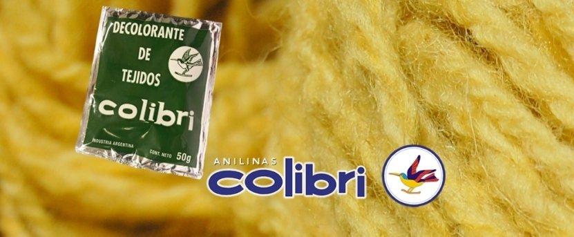 Decolorante para Tejidos Colibri 50gr