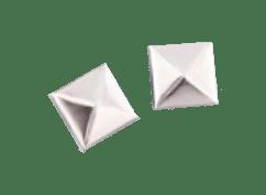 Tachas Marroquinería Piramidal 15x15mm Niquel, Bronce, Cobre o Sim Oro