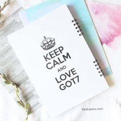 Caderno GOT7 Keep Calm - comprar online