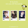 Kit Photocards BTS Jimin