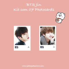 Kit Photocards BTS Jin na internet