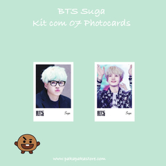Kit Photocards BTS Suga - comprar online