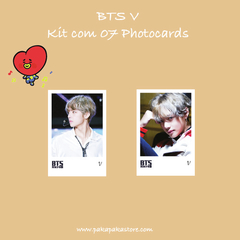 Kit Photocards BTS V na internet