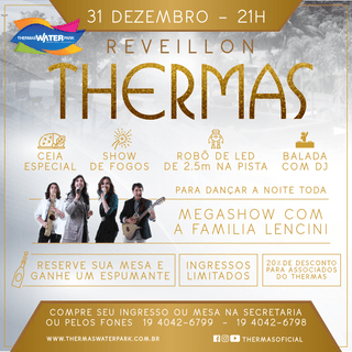 Reveillon  no Thermas