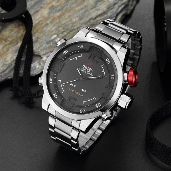 d9cdc010f01 Relógio Ohsen Army Led - Comprar em Yasmin Store
