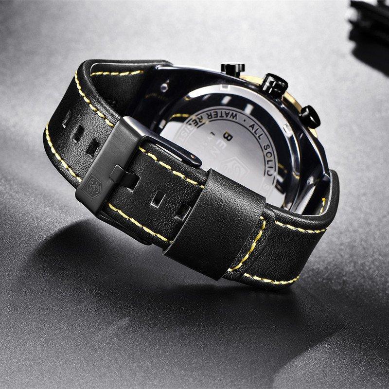da20610c36c ... Yasmin Store Relógio Benyar Cronógrafo Esporte Moda Militar - loja  online ...