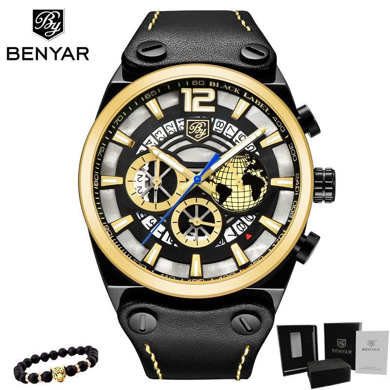 dd3742a2d09 Relógio Benyar Cronógrafo Esporte Moda Militar