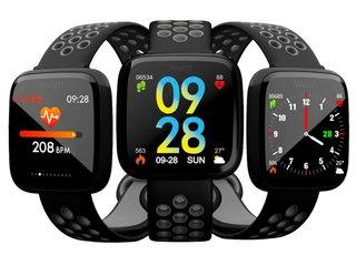 045f8857b89 Smartwatch Relógio Eletrônico CF 007 Fitness Tracker 40mm