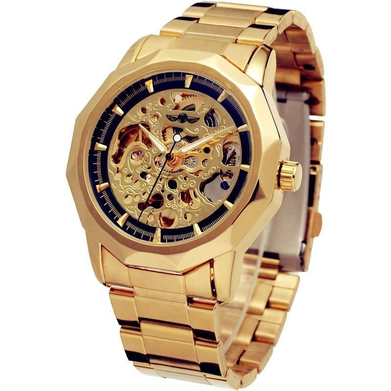 da0daa2a76f Relógios Relógio Winner Luxo Automático