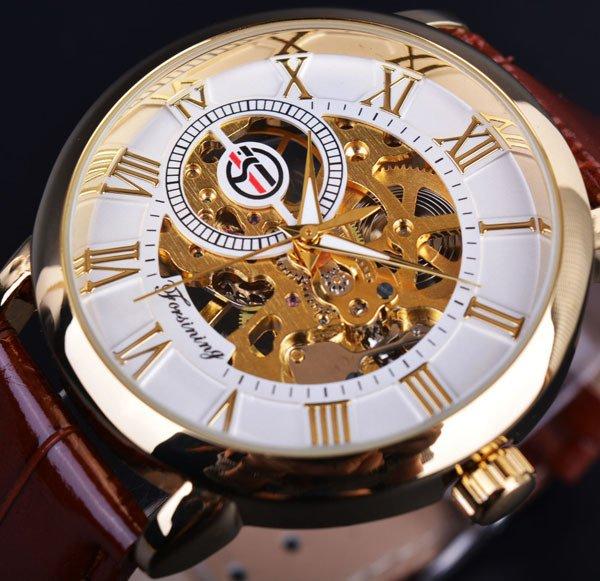 853eb8483a1 ... Yasmin Store Relógio Forsining 3d Design Marca De Luxo Homens - loja  online ...