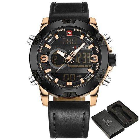 10aeefcebc3 Relógio Naviforce Quartz Militar Masculino