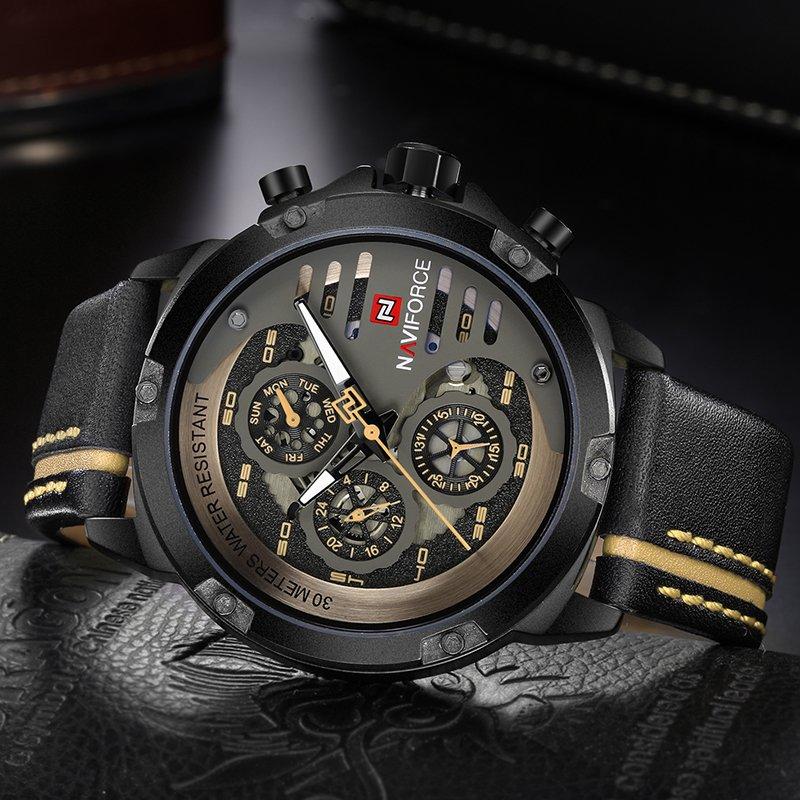 69405519666 ... Relógio NAVIFORCE Mens Top Marca de Luxo - Yasmin Store ...