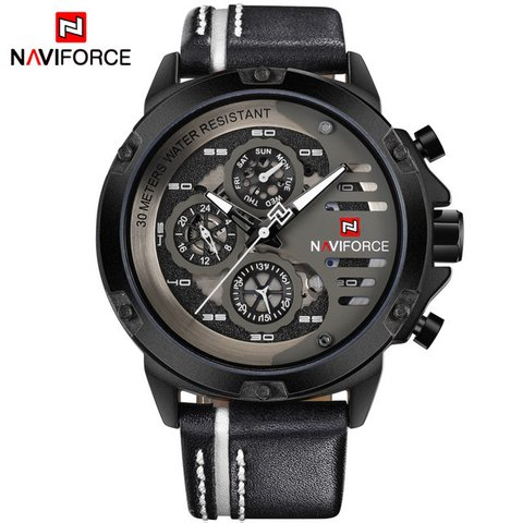 Relógio NAVIFORCE Mens Top Marca de Luxo na internet