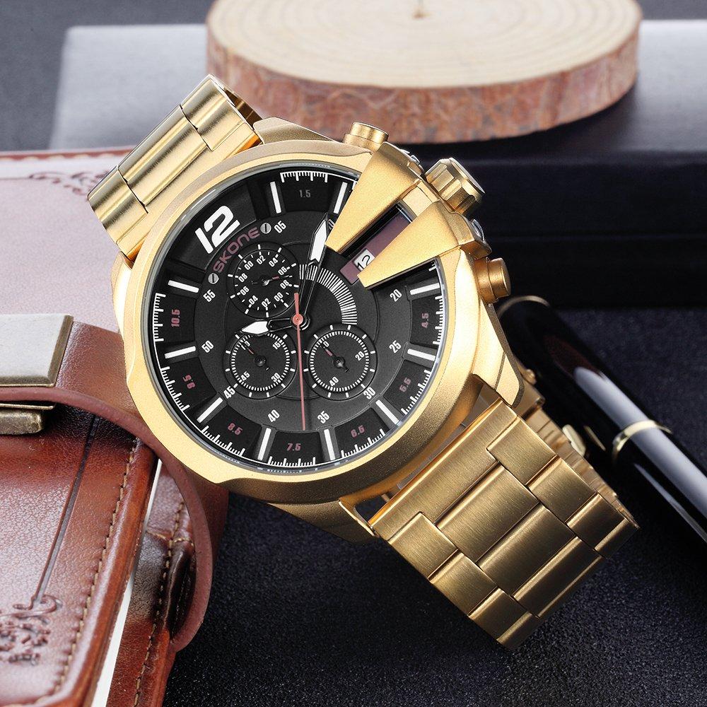 01725be1bc8 Relógio Skone Army Funcional Gold Relógio Skone Army Funcional Gold -  comprar online ...