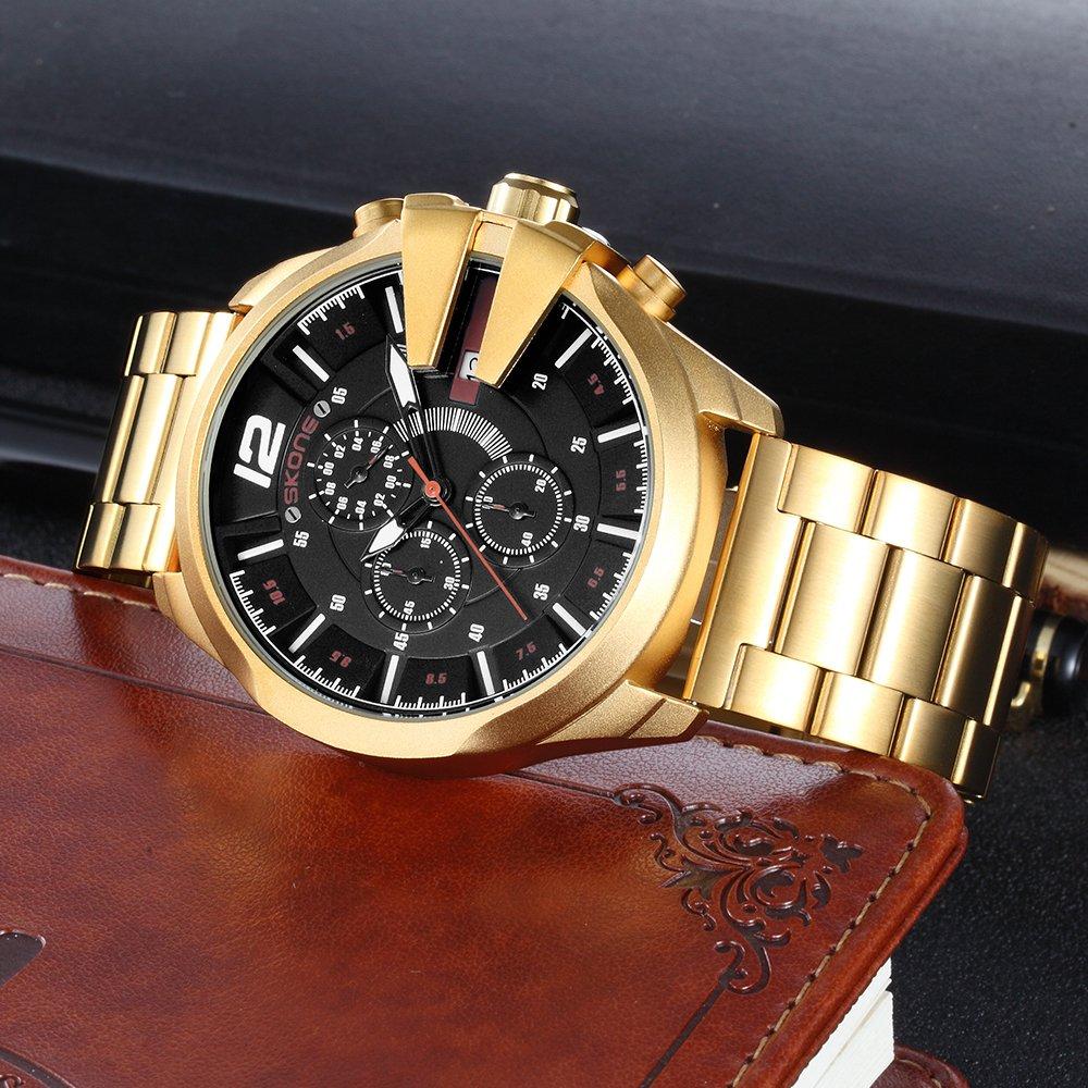 d562a5f06ff ... Relógio Skone Army Funcional Gold na internet Relógio Skone Army  Funcional Gold - Yasmin Store ...