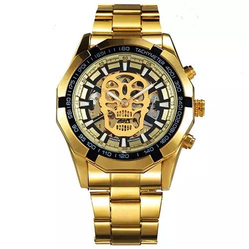 38bbe2d1700 Relógio Automático Winner Skull - Yasmin Store
