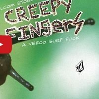 Creepy Fingers  Volcom - DVD no plástico