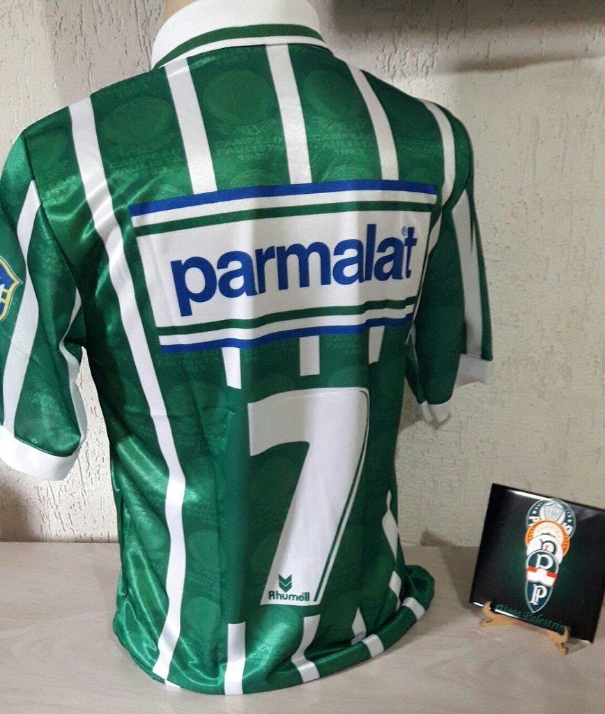 Camisa Palmeiras Parmalat - Artigos Palestrinos d33ec4039542f