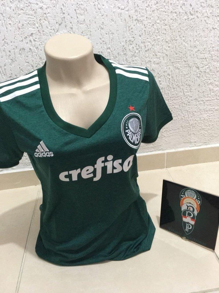 4e181568a43ac Camisa Palmeira Feminina Home 2018