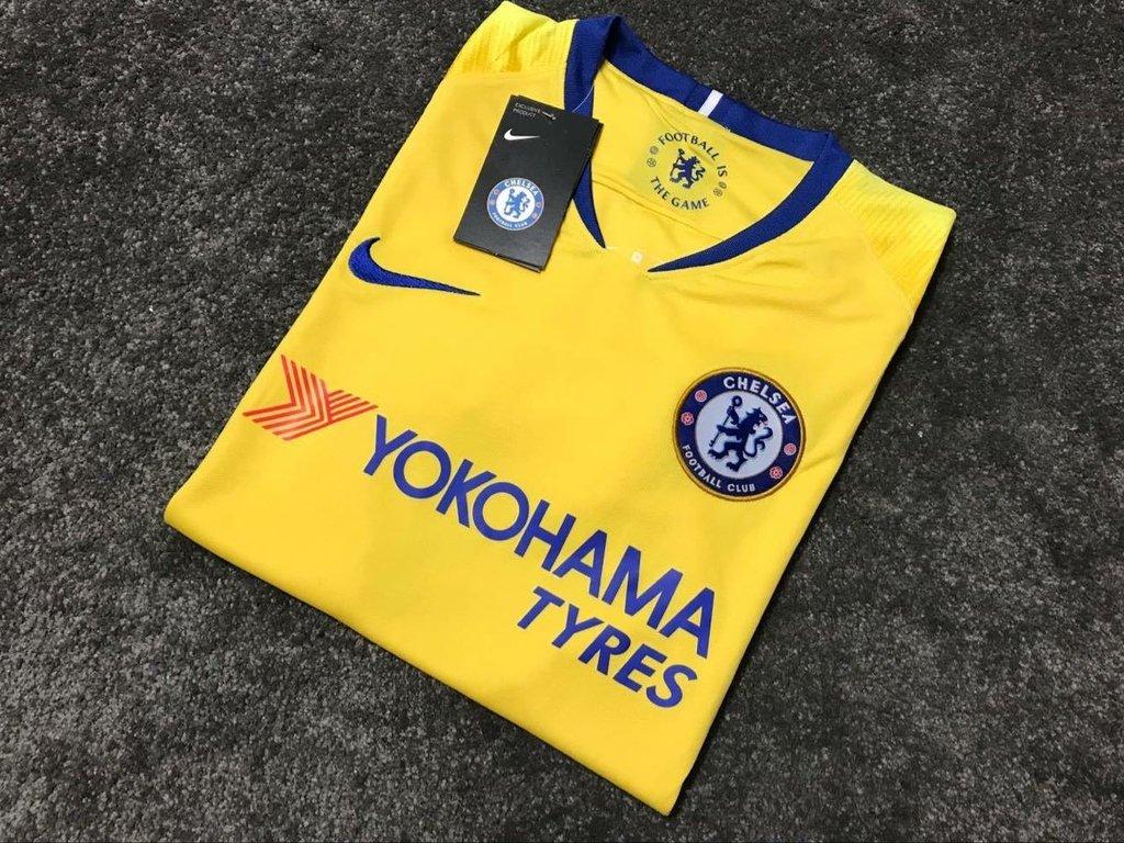 9d1697f356 Camisa Chelsea Away 2018 2019 - Artigos Palestrinos