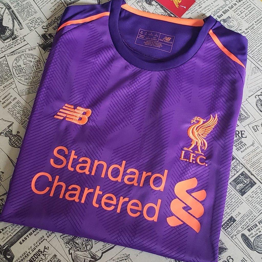 5fa595c6c2 Camisa Liverpool Away 2018 2019 - Artigos Palestrinos