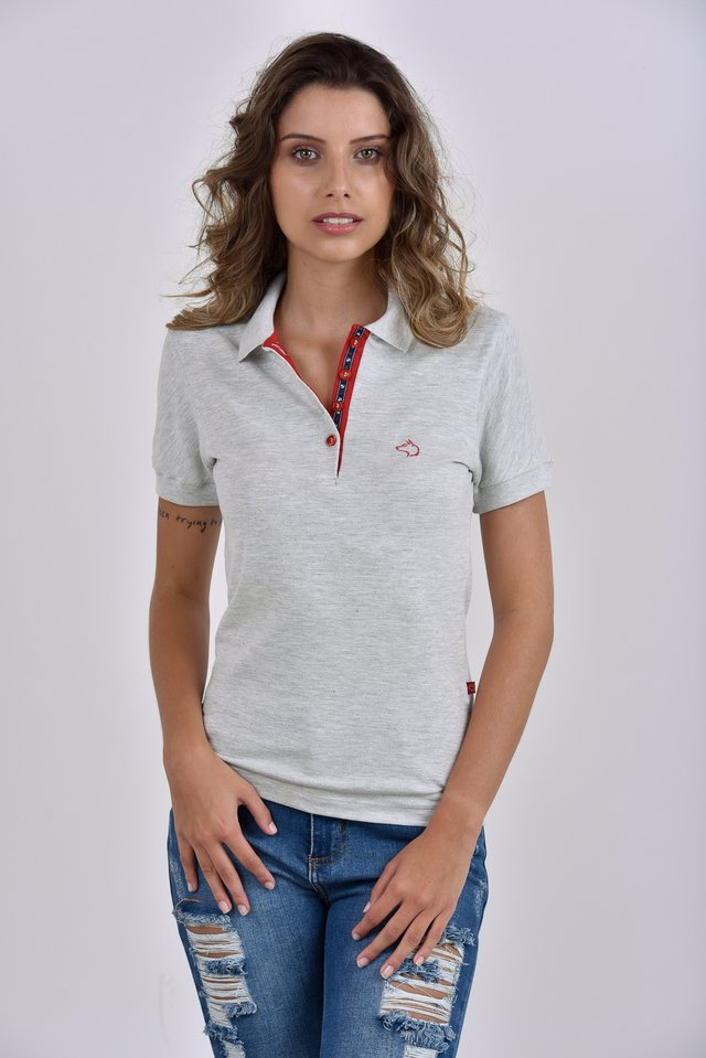 c82d8cceb2 Camisa Polo Feminina âncoras  Camisa Polo Feminina âncoras - comprar online  ...