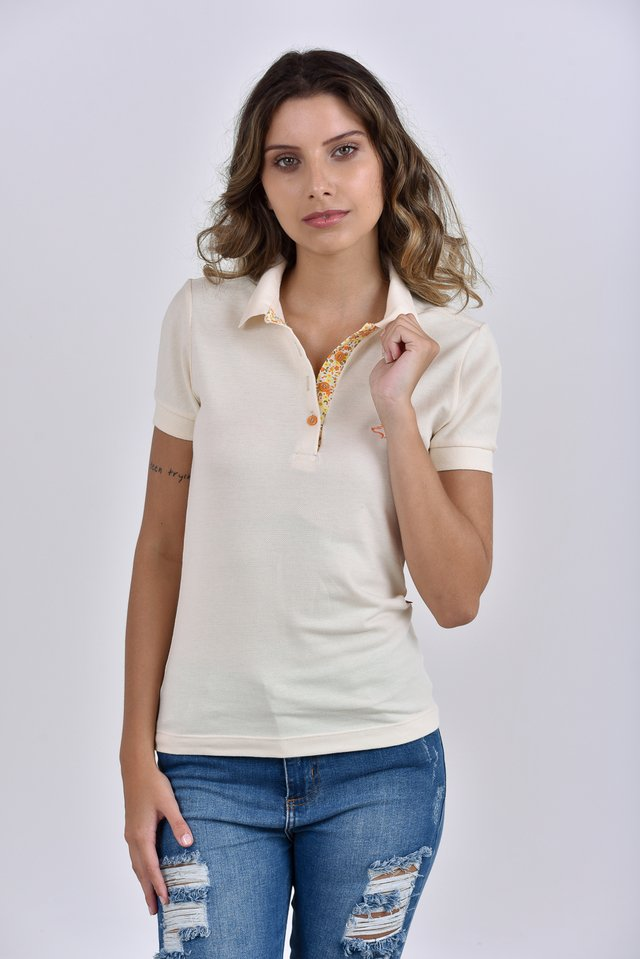 fbd1a361c5 Camisa Polo Feminina