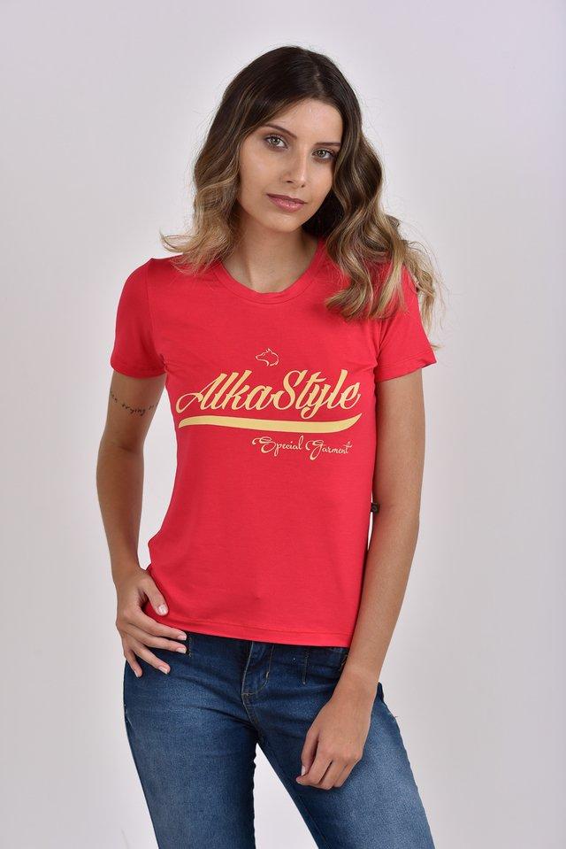 dd0d00950 T-Shirt Feminina Alka horizontal .