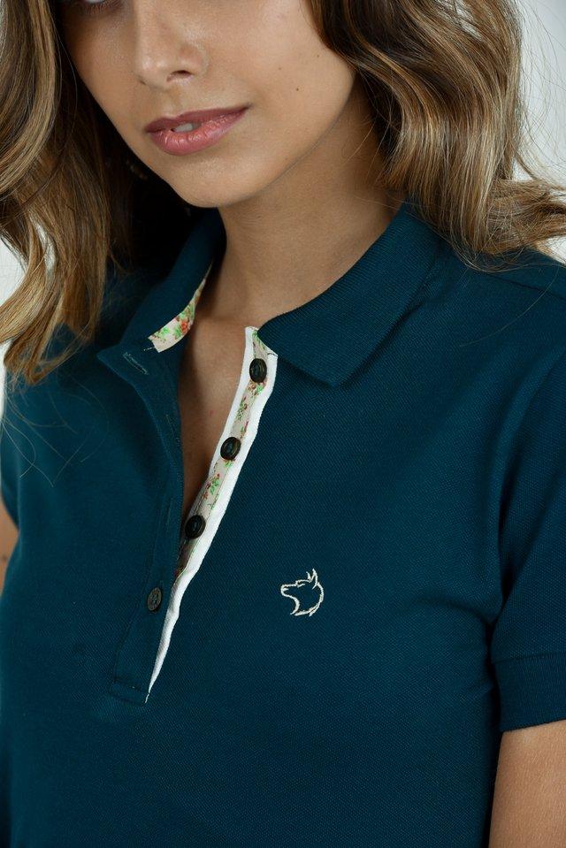 Camisa Polo feminina - Comprar em Alka 36e23645c6659