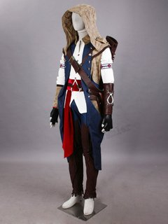 Assassin's Creed 3 Fantasia Cosplay Infantil