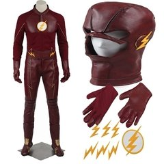 Barry Allen The Flash 2º Temporada Fantasia Cosplay