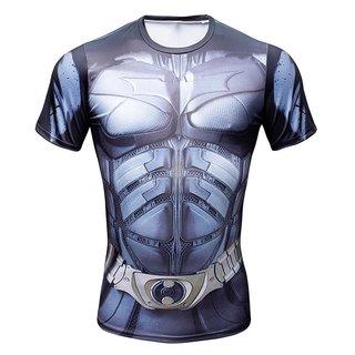 Camisa Batman Arkham Asylum Manga Curta
